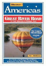 Discover America s Great River Road: The Upper Mississippi, St Paul to Dubuque