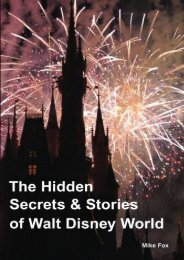 The Hidden Secrets   Stories of Walt Disney World: With Never-Before-Published Stories   Photos