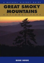 Great Smoky Mountains: A Natural History Guide