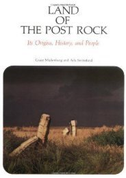 Land of the Post Rock: Its Origins, History, and People