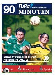 90 Minuten – Das Magazin von FuPa Brandenburg, Fußballkreis Niederlausitz