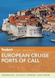 Fodor s European Cruise Ports of Call (Travel Guide)