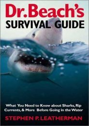 Dr. Beach s Survival Guide: What You Need to Know About Sharks, Rip Currents, and More Before Going in the Water