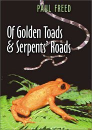 Of Golden Toads and Serpents  Roads (Louise Lindsey Merrick Natural Environment Series)