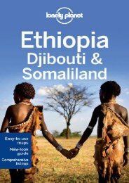 Lonely Planet Ethiopia, Djibouti   Somaliland (Travel Guide)
