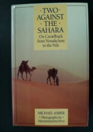 Two Against the Sahara: On Camelback from Nouakchott to the Nile