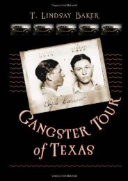 Gangster Tour of Texas (ATM Travel Guides)