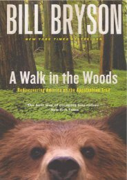 A Walk In The Woods (Turtleback School   Library Binding Edition)