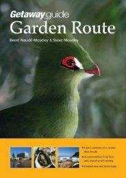 Getaway Guide Garden Route (Getaway Guides)