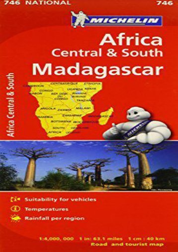 Michelin Map No. 746 Africa/ Central and South Madagascar (French Edition)