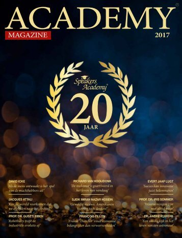 Speakers Academy ACADEMY® Magazine 2017