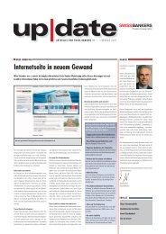 Internetseite in neuem Gewand - Swiss Bankers