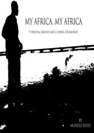 Best PDF My Africa, My Africa: A Spiritual Journey and Cultural Exploration -  Unlimed acces book