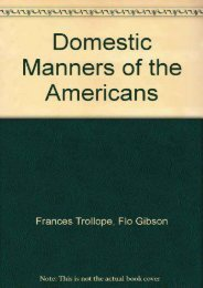 Read PDF Domestic Manners of the Americans (Classic Books on Cassettes Collection) [UNABRIDGED] -  Best book