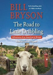 Read PDF The Road to Little Dribbling: Adventures of an American in Britain -  Best book