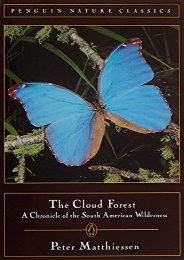 Read PDF Cloud Forest: A Chronicle of the South American Wilderness -  Unlimed acces book