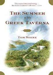 Read PDF The Summer of My Greek Taverna: A Memoir -  For Ipad