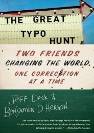 Unlimited Ebook The Great Typo Hunt: Two Friends Changing the World, One Correction at a Time -  Populer ebook