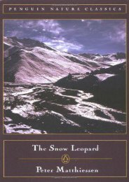 Unlimited Read and Download The Snow Leopard (Penguin Nature Classics) -  For Ipad