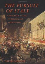 Unlimited Read and Download The Pursuit of Italy: A History of a Land, Its Regions, and Their Peoples -  Best book