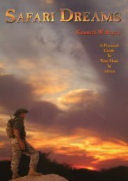 Read PDF Safari Dreams: A Practical Guide To Your Hunt In Africa -  Online