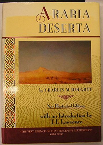 Download Ebook Arabia Deserta -  Populer ebook