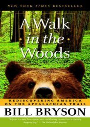 Best PDF A Walk in the Woods: Rediscovering America on the Appalachian Trail -  Unlimed acces book