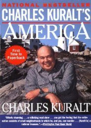 Unlimited Read and Download Charles Kuralt s America -  Online