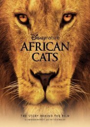 Read PDF Disney Nature: African Cats: The Story Behind the Film (Disney Editions Deluxe (Film)) -  Best book