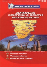 Unlimited Read and Download Michelin Map Africa Central South and Madagascar 746 (w/cover) (Maps/Country (Michelin)) -  Best book