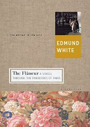 Unlimited Ebook The Flaneur: A Stroll through the Paradoxes of Paris (Writer and the City) -  Populer ebook