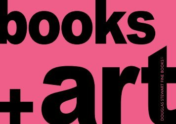 Books + Art - Douglas Stewart Fine Books