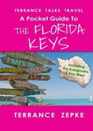 Read PDF Terrance Talks Travel: A Pocket Guide to the Florida Keys: (Including the Everglades   Key West) (Volume 4) -  For Ipad