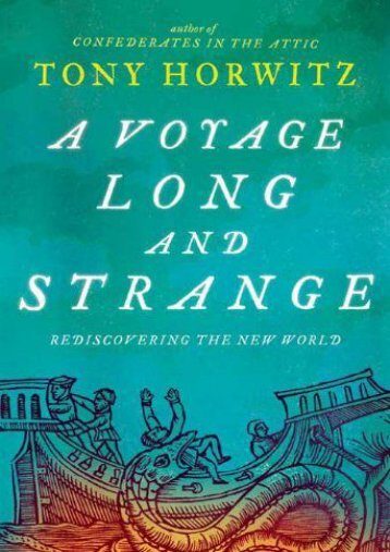 Read PDF A Voyage Long and Strange: Rediscovering the New World -  Populer ebook
