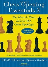 Full Download Chess Opening Essentials, Volume 2 -  Unlimed acces book - By Stefan Djuric