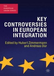 Best PDF Key Controversies in European Integration (The European Union Series) -  Online - By