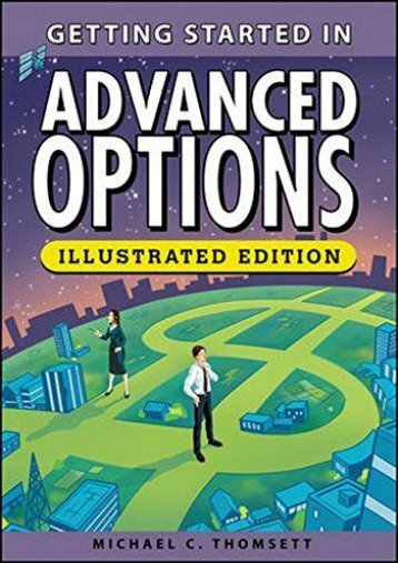 Full Download Getting Started in Advanced Options, Illustrated Edition -  Online - By Michael C. Thomsett