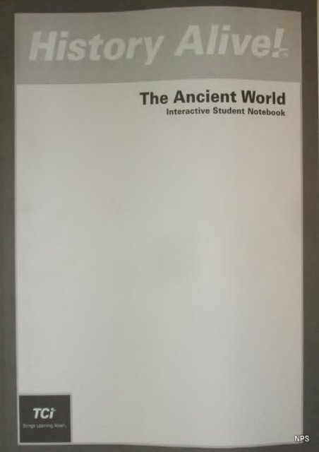 Full Download History Alive The Ancient World Interactive