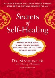 Unlimited Read and Download Secrets of Self-Healing: Harness Nature s Power to Heal Common Ailments, Boost Your Vitality, and Achieve Optimum Wellness -  Best book - By Maoshing Ni