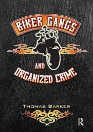 [Free] Donwload Biker Gangs and Organized Crime -  Online - By Thomas Barker