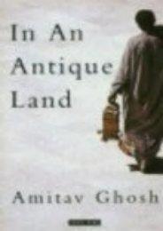 Full Download In An Antique Land -  Populer ebook