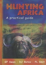 [Free] Donwload Hunting Africa: A Practical Guide -  Best book
