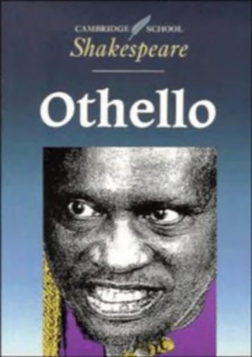 Download Ebook Othello (Cambridge School Shakespeare) -  Best book - By William Shakespeare
