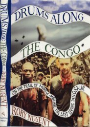 Full Download Drums along the Congo: On the Trail of Mokele-Mbembe, the Last Living Dinosaur -  Online