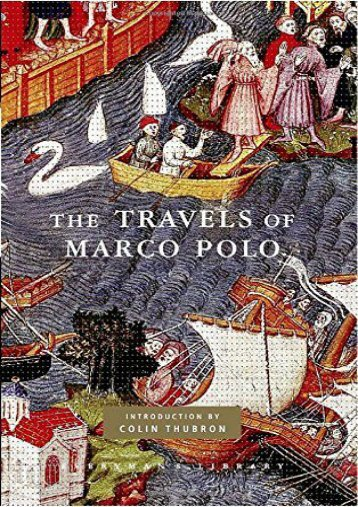 Read PDF The Travels of Marco Polo -  Best book