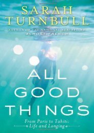 Read PDF All Good Things: From Paris to Tahiti: Life and Longing -  Populer ebook