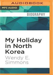 Best PDF My Holiday in North Korea: The Funniest/Worst Place on Earth -  Unlimed acces book