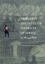 Unlimited Read and Download Travels in the Interior Districts of Africa -  Best book