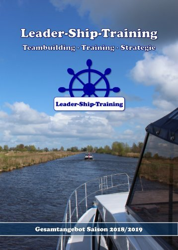 Leader-Ship-Training - Unser Angebot 2018/2019