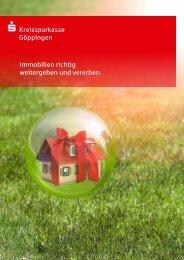 Broschüre Immobilien richtig weitergeben und vererben